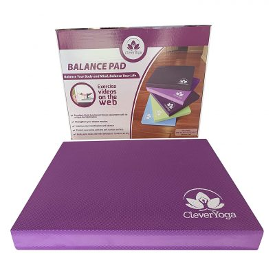 Clever Yoga Balance Pad for Physical Therapy and Exercise