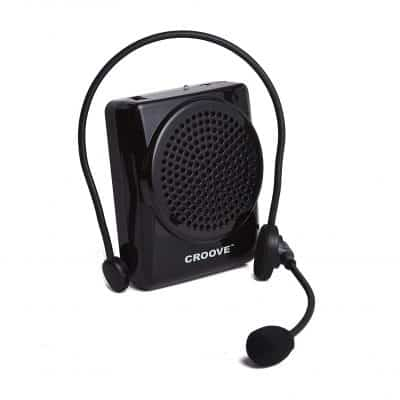 Croove Portable Microphone and Speaker Set