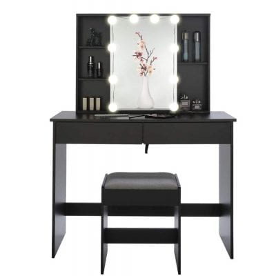 USIKEY Vanity Set with 10 LED Lights