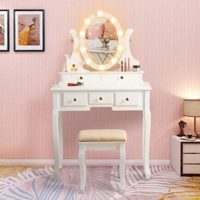 COVMAX Vanity Set with Lighted Mirror