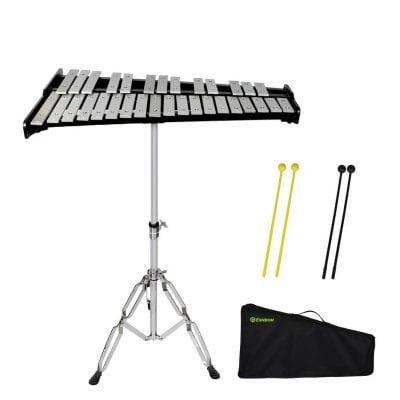 ENNBOM 32-Note Glockenspiel Kit with a Carrying Bag