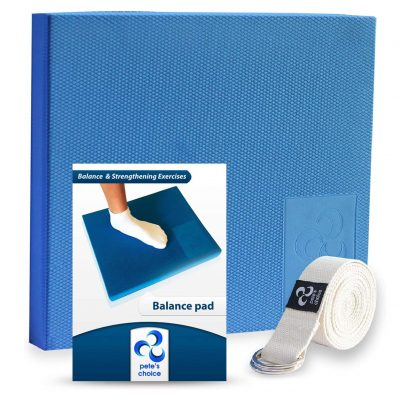 Pete's Choice Foam Balance Pad with Stretching Strap
