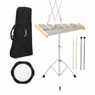 GLARRY 32-Notes Percussion Bell Kit