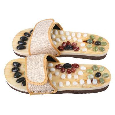 Romonacr Massager Shoes Shiatsu Relax Sandals