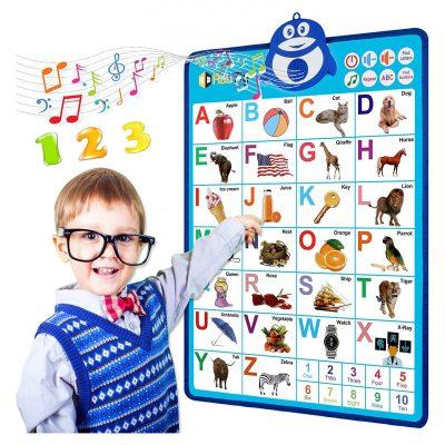 RabTig Electronic Interactive Alphabet Wall Chart