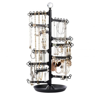 All Hung Up Jewelry Holder Stand Tower