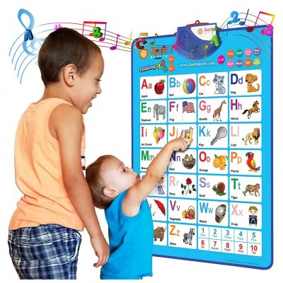 Just Smarty Electronic Alphabet Wall Chart for Boys and Girls