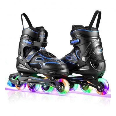 Casulo Kids Light Up Wheels Roller Skates