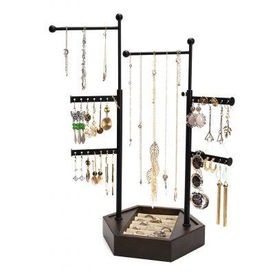 Emfogo 6 Tier Jewelry Holder Stand