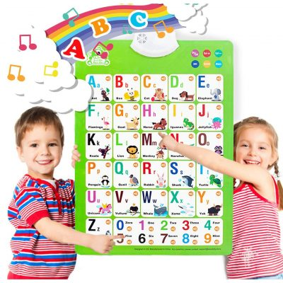 Gentle Monster Electronic Wall Chart for Alphabets