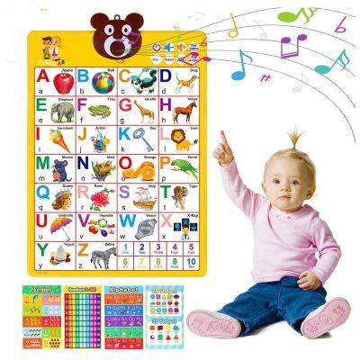 MagicFun Electronic Alphabet Wall Chart