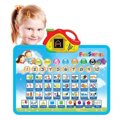 Funshpiel Electronic Talking Board for Toddlers