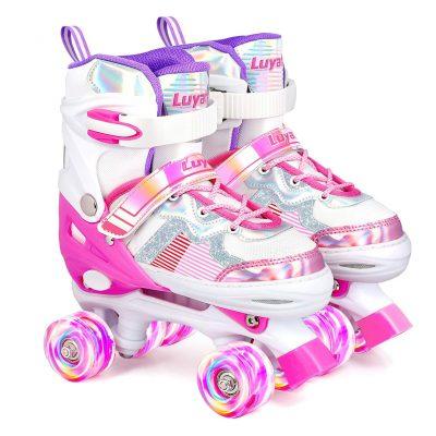 LUYATA Roller Skates for Kids Boys Girls
