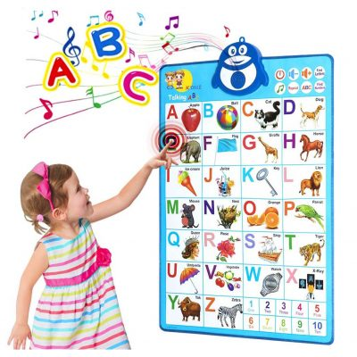 HEY FOLY Electronic Alphabet Poster for Toddlers
