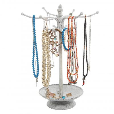 MyGift Jewelry Organizer Tree Rack