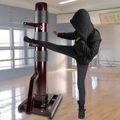 Geniqua Wing Chun Dummy - Solid Wood