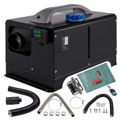 VEVOR 8KW Diesel Air Heater with Black LCD