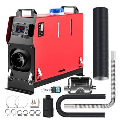 Happybuy 5KW All in One Diesel Heater with LCD Switch