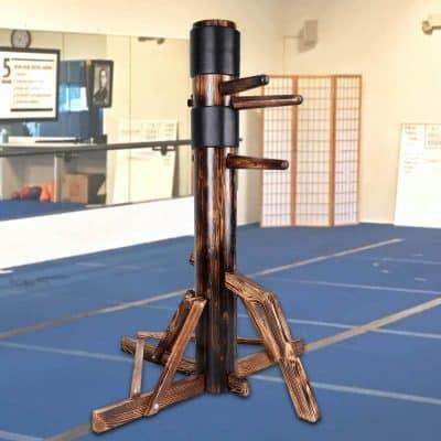 Flex HQ Wing Chun Dummy with a Wood Base