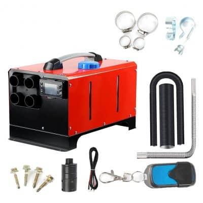 BONDA 12V Diesel Air Heater, Remote Control- Red