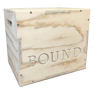 BOUND Wood Plyometric Box