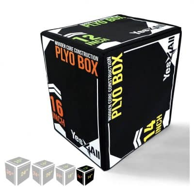 Yes4All Foam Plyometric Box for Exercise
