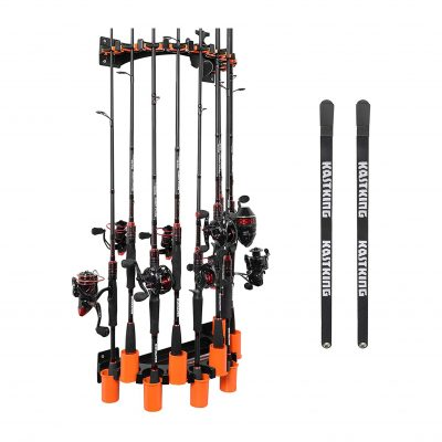 KastKing V10 Wall-Mounted Rod Rack