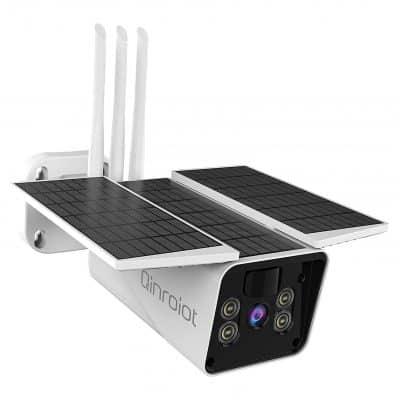 Qnroiot Wireless Outdoor Security Camera, IP66 Waterproof