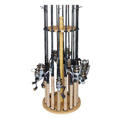 Rush Creek Creations Fishing Rod Rack