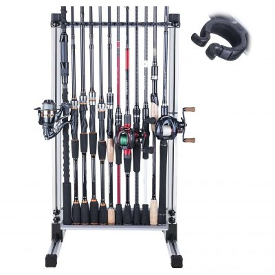 Goture Fishing Rod Holder, Holds up to 24 Rods