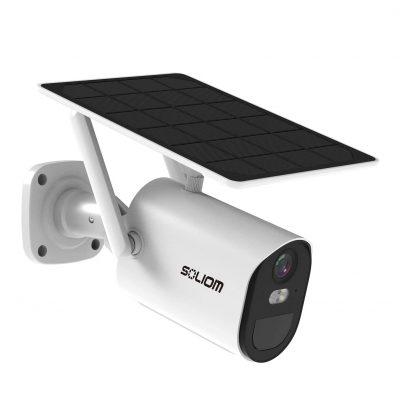 SOLIOM Solar-Security-Camera, Motion Detection